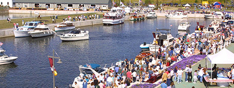 Image of a Canal Events along Syracuse Harbor